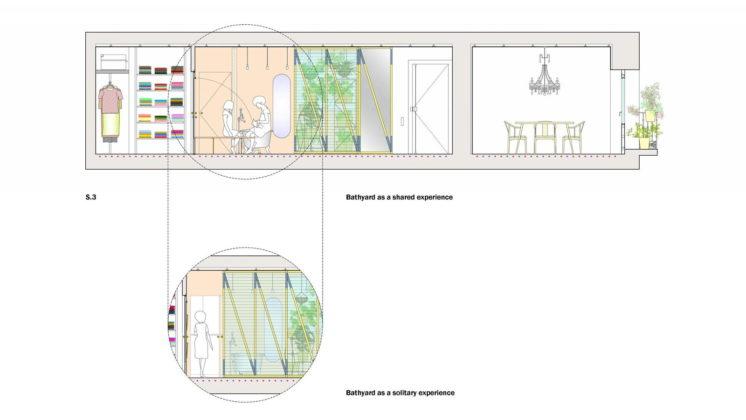 Реконструкция старинного дома в Мадриде План 3