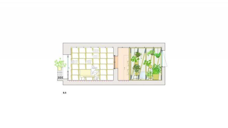 Реконструкция старинного дома в Мадриде План 4