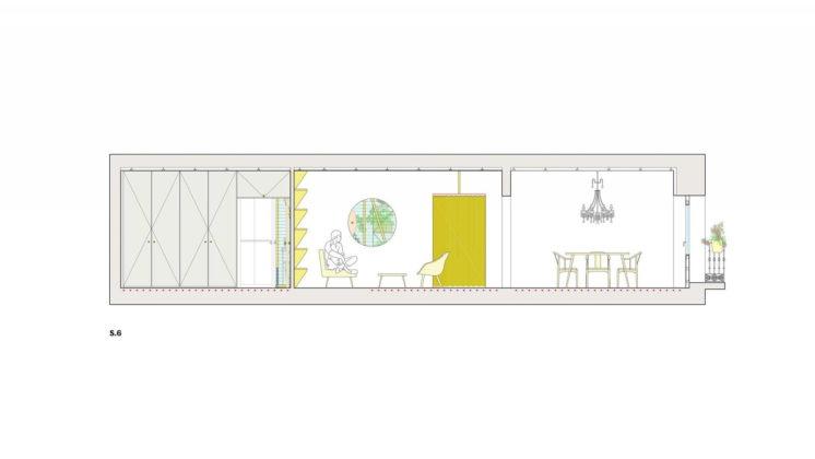 Реконструкция старинного дома в Мадриде План 5