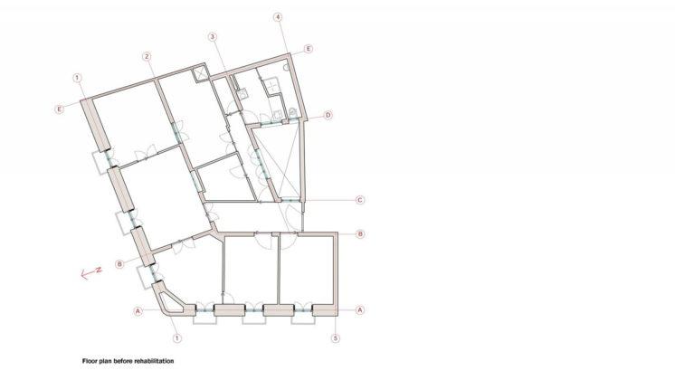 Реконструкция старинного дома в Мадриде План 7