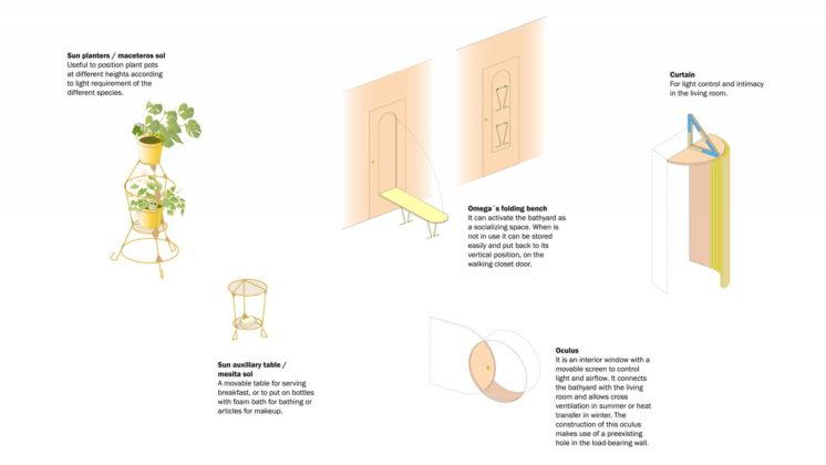 Реконструкция старинного дома в Мадриде План 8