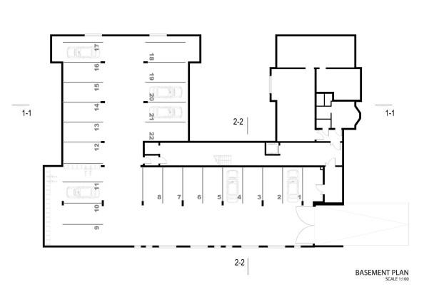 Жилой дом Erg 6 из старого санатория в Юрмале План 4