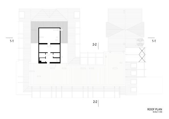Жилой дом Erg 6 из старого санатория в Юрмале План 5
