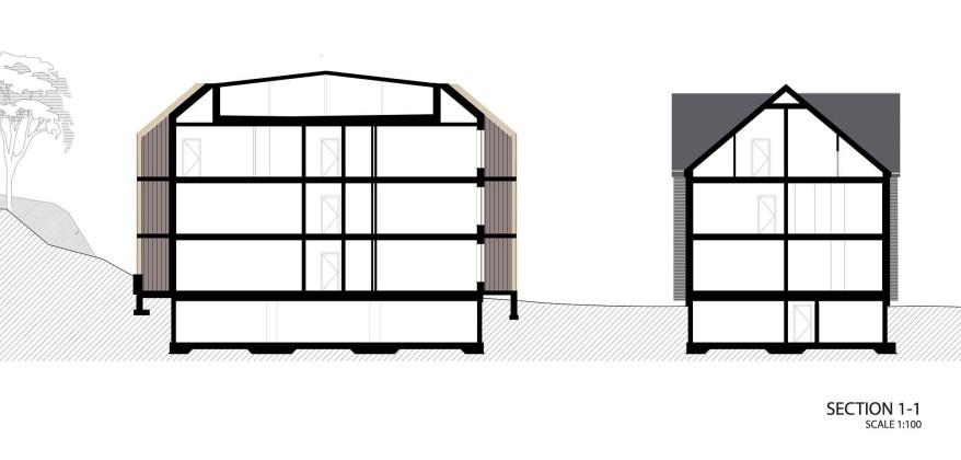 Жилой дом Erg 6 из старого санатория в Юрмале План 8