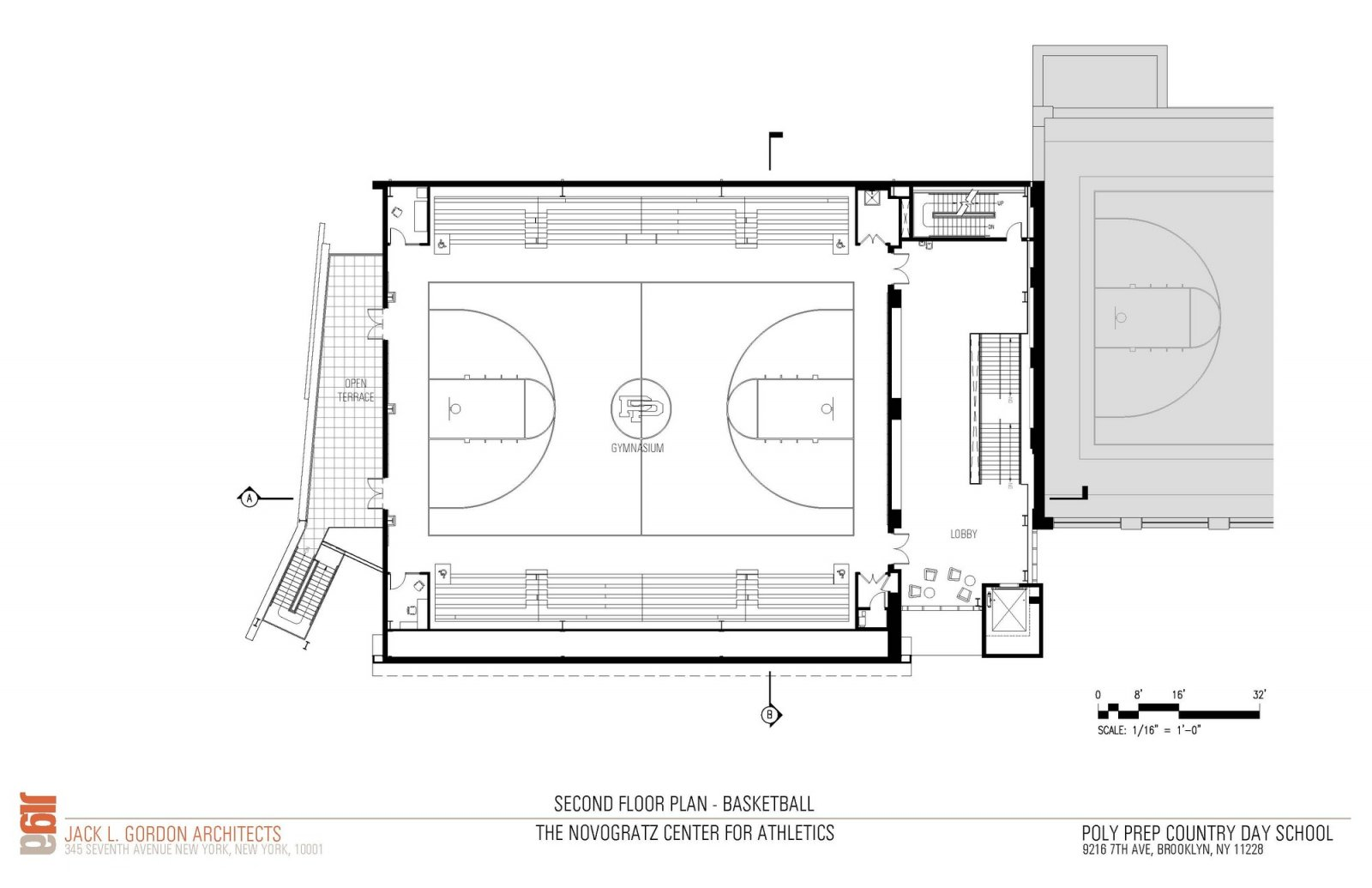 2nd Floor Plan Basketball