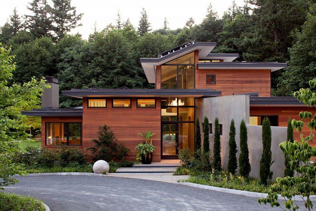 Энергоэффективный дом Skyline в загородном стиле 1