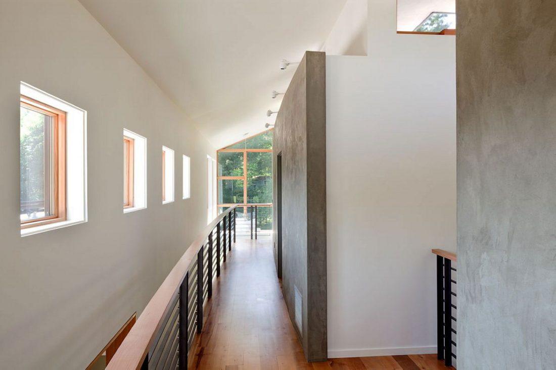 Энергоэффективный дом Skyline в загородном стиле 10