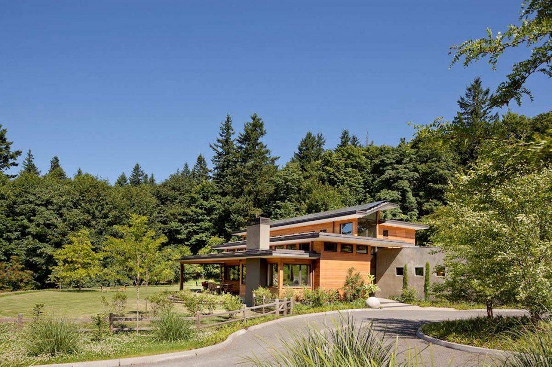 Энергоэффективный дом Skyline в загородном стиле 2