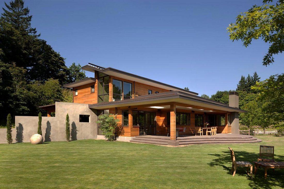 Энергоэффективный дом Skyline в загородном стиле 3