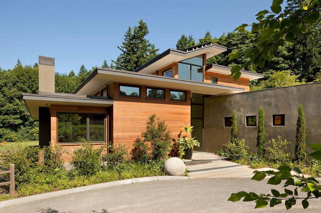 Энергоэффективный дом Skyline в загородном стиле 4