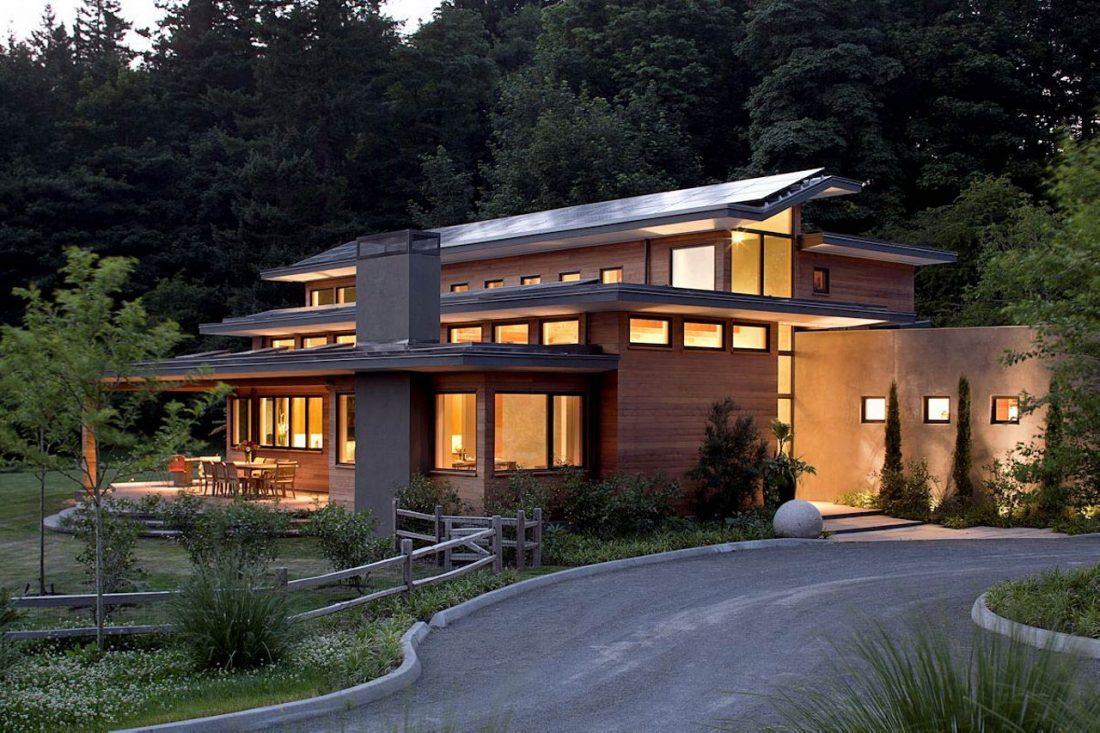 Энергоэффективный дом Skyline в загородном стиле 6