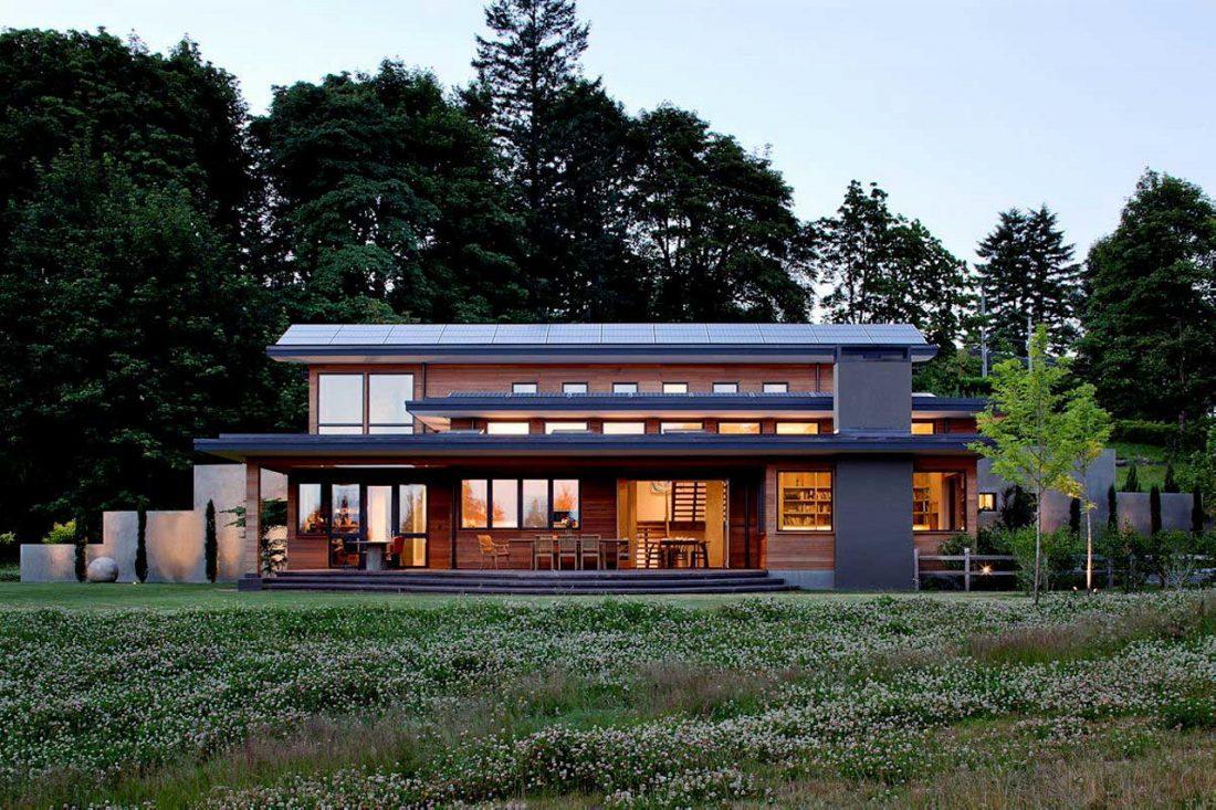 Энергоэффективный дом Skyline в загородном стиле 7