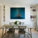 Лондонская квартира в средиземноморском стиле