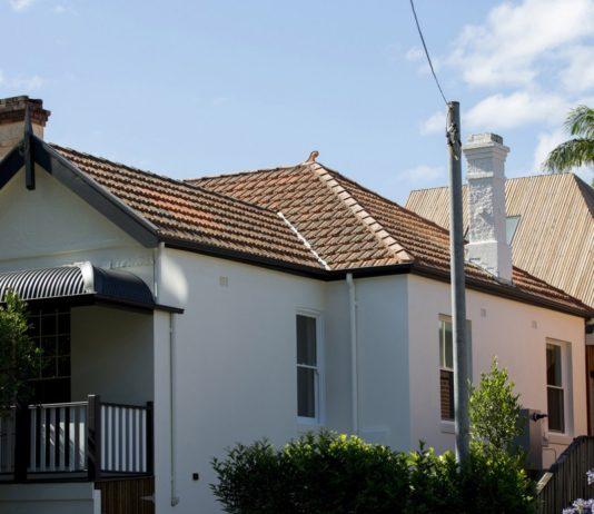 Дом Cut-away Roof House в Австралии от студии Scale Architecture