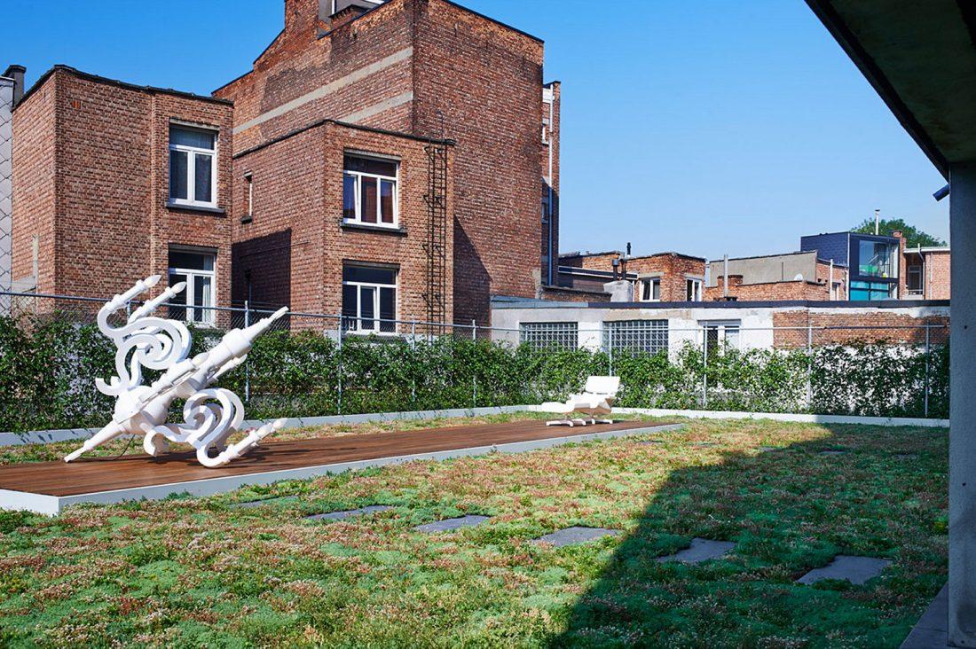 Веселый и жизнерадостный дом в Антверпене, Бельгия 1