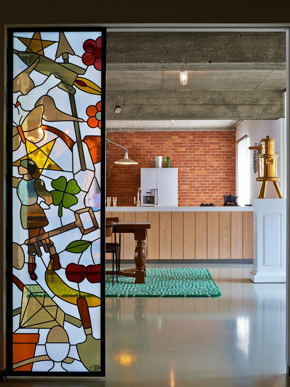 Веселый и жизнерадостный дом в Антверпене, Бельгия 7