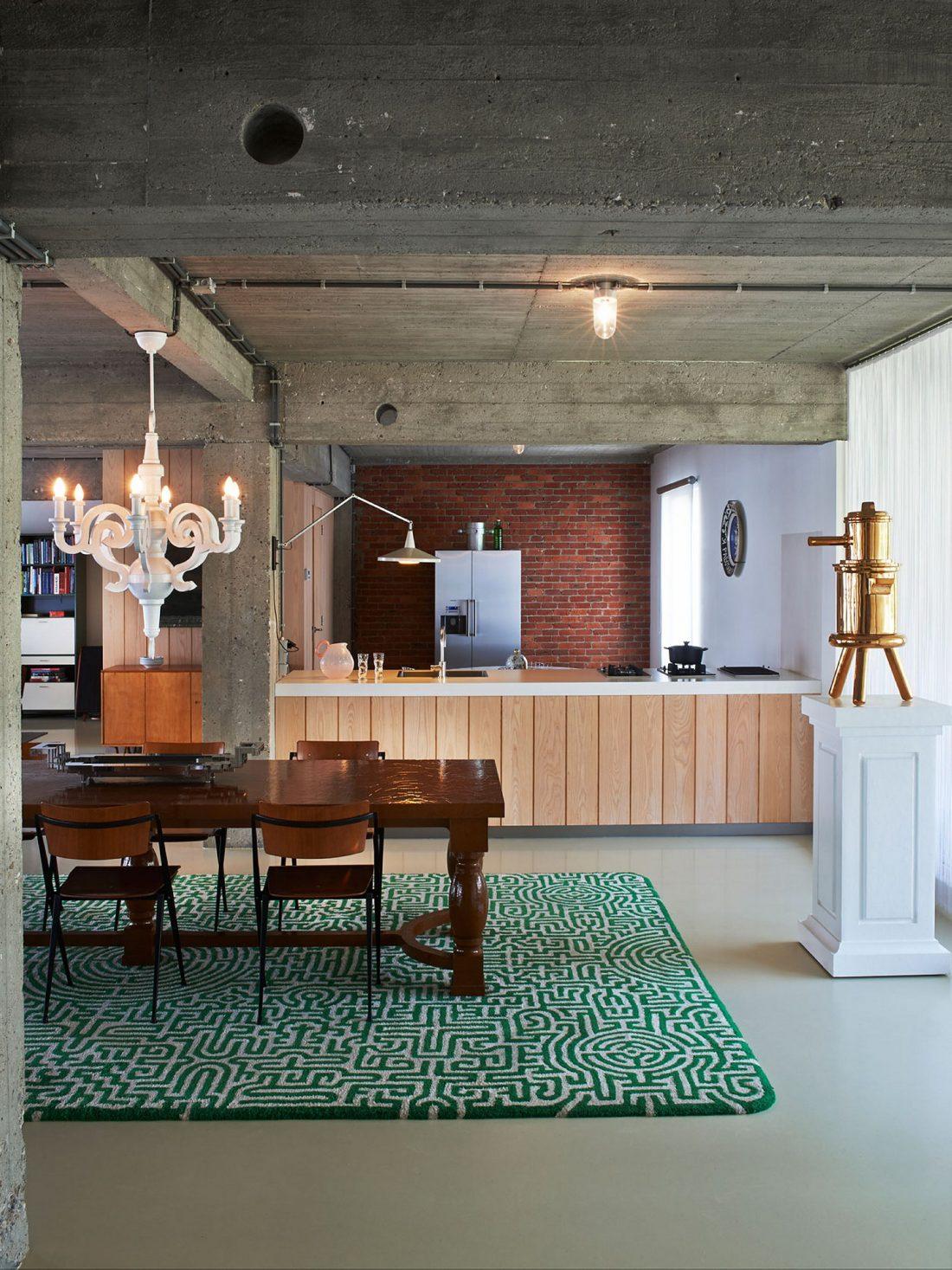 Веселый и жизнерадостный дом в Антверпене, Бельгия 8