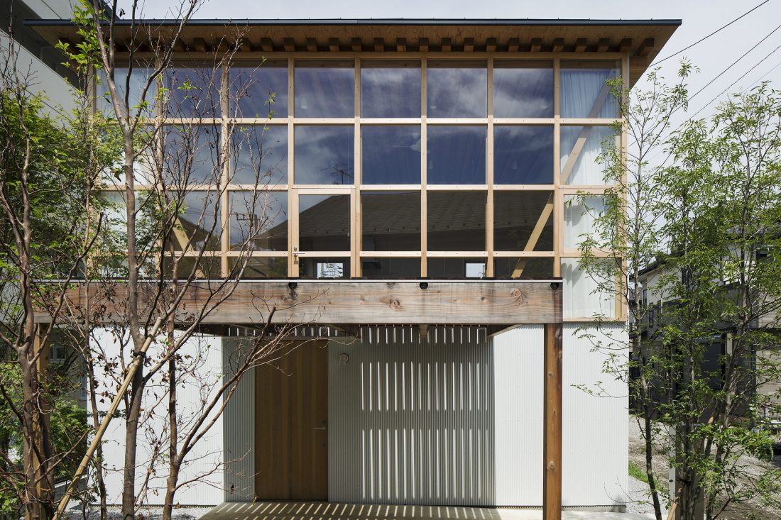 Дом в Токио по системе Shakkanho по проекту Tetsuo Yamaji 1