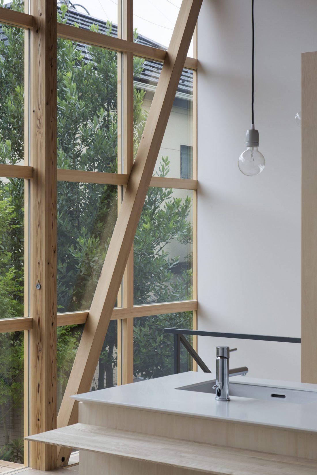 Дом в Токио по системе Shakkanho по проекту Tetsuo Yamaji 11