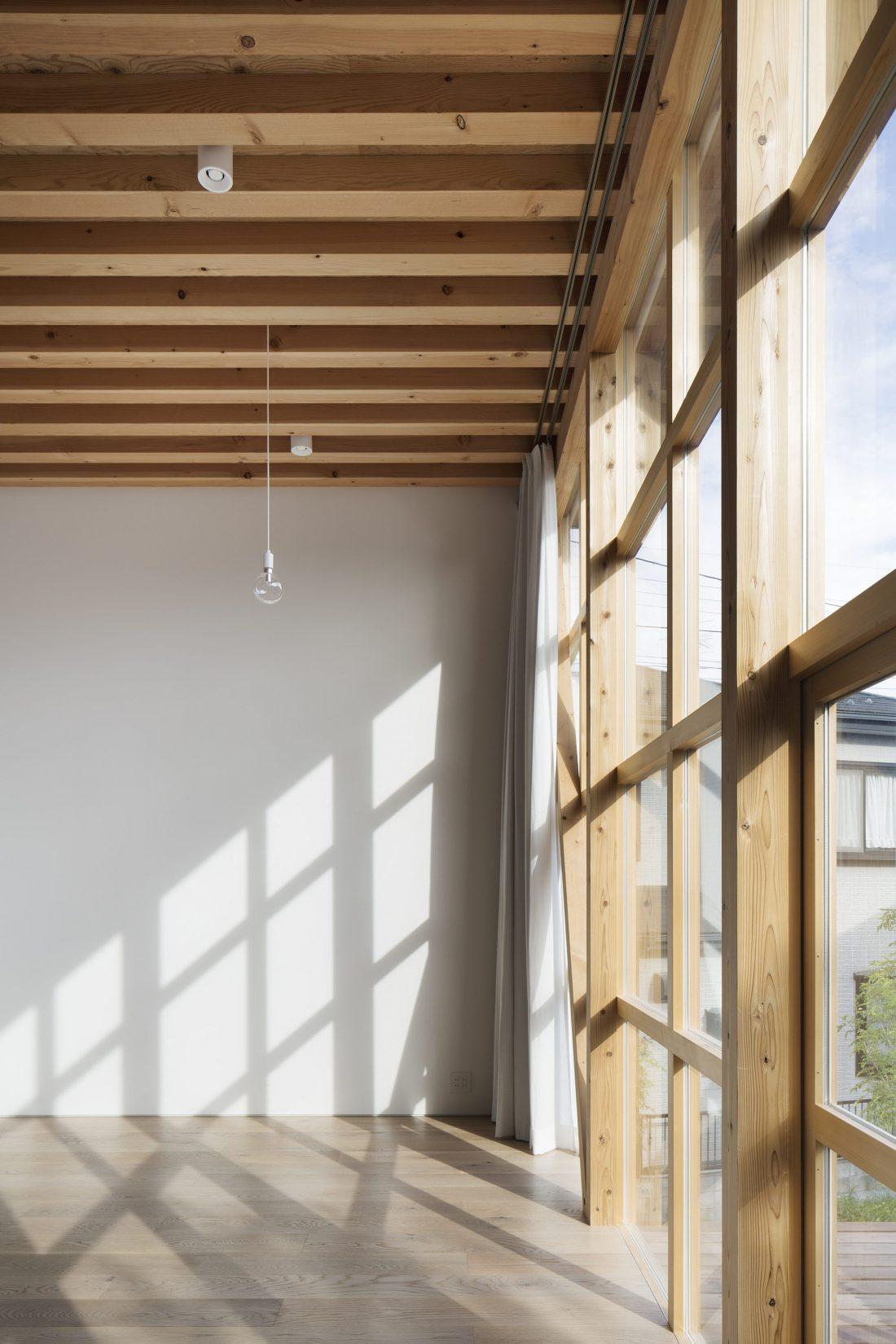 Дом в Токио по системе Shakkanho по проекту Tetsuo Yamaji 13
