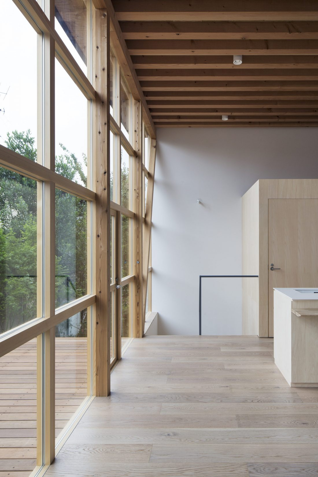 Дом в Токио по системе Shakkanho по проекту Tetsuo Yamaji 14