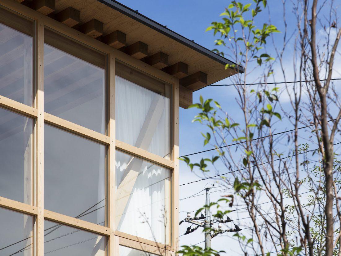 Дом в Токио по системе Shakkanho по проекту Tetsuo Yamaji 15