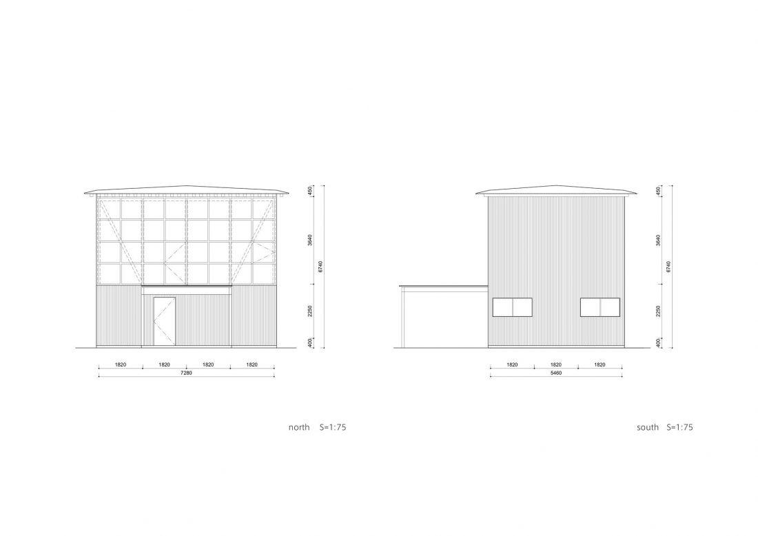Дом в Токио по системе Shakkanho по проекту Tetsuo Yamaji 21
