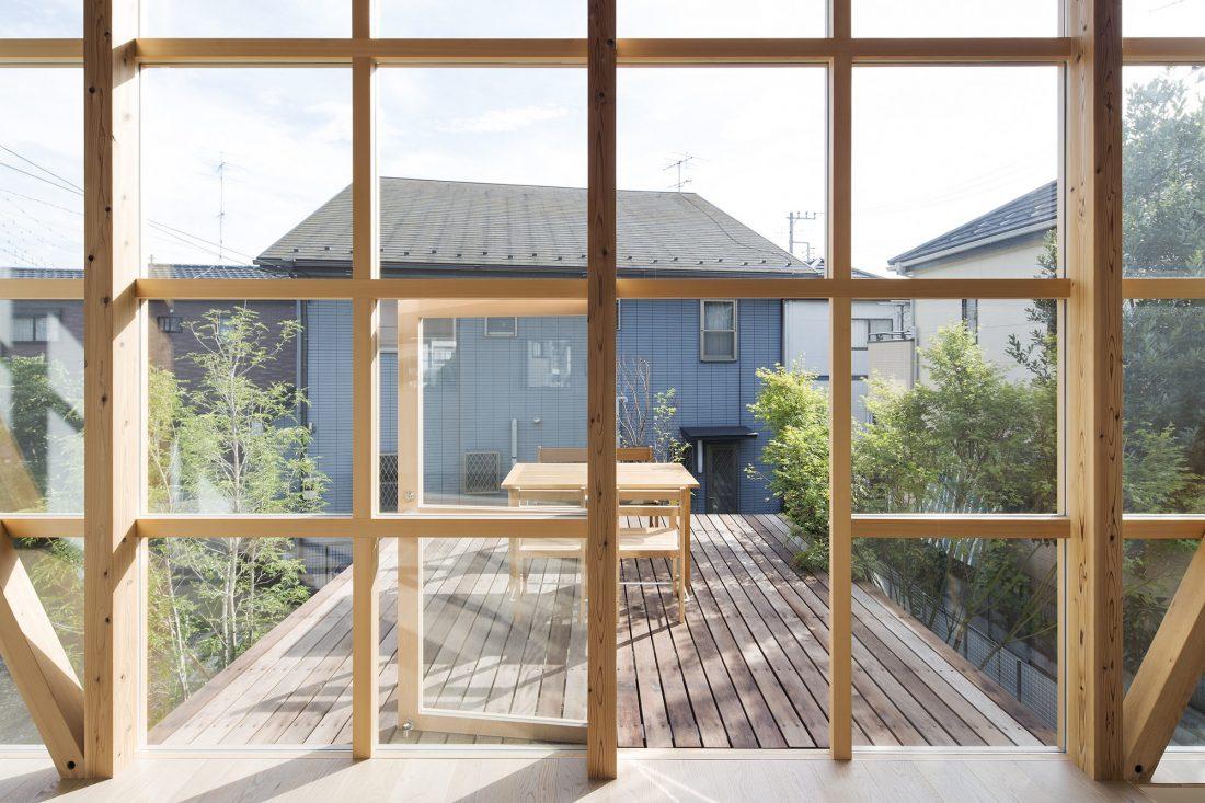 Дом в Токио по системе Shakkanho по проекту Tetsuo Yamaji 3