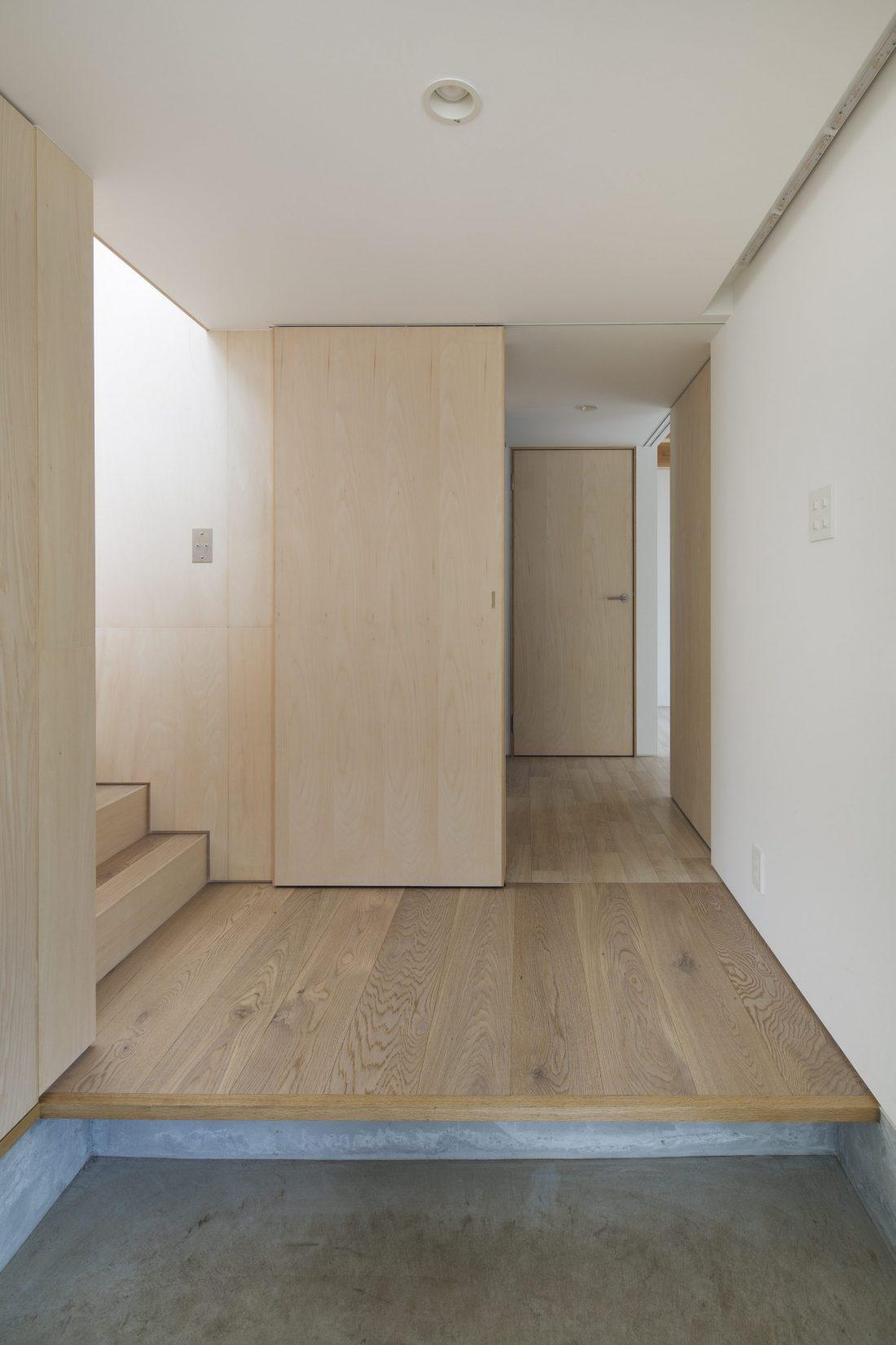 Дом в Токио по системе Shakkanho по проекту Tetsuo Yamaji 7