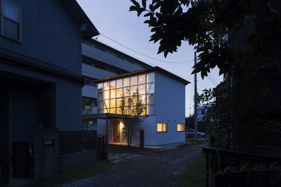 Дом в Токио по системе Shakkanho по проекту Tetsuo Yamaji 9