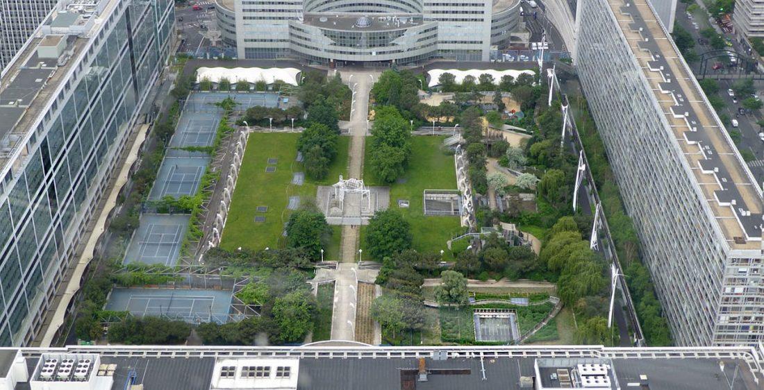 Сад Атлантик в Париже