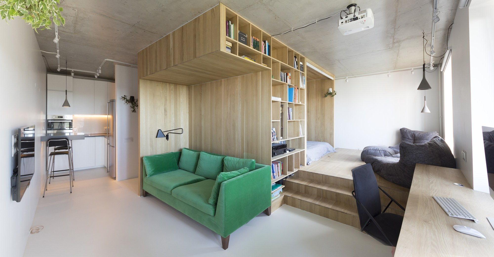 Интерьер маленькой квартиры 81