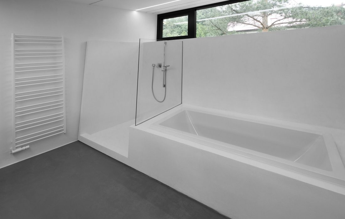 Стиль минимализм в интерьере ванной комнаты