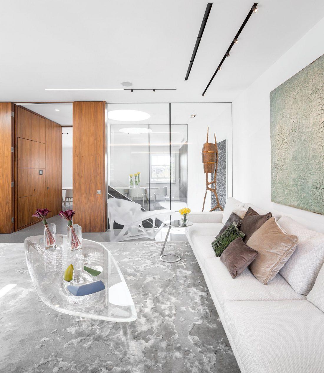 Стиль минимализм в интерьере - мебель 14