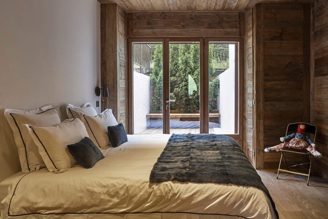 Кантри стиль в интерьере спальни
