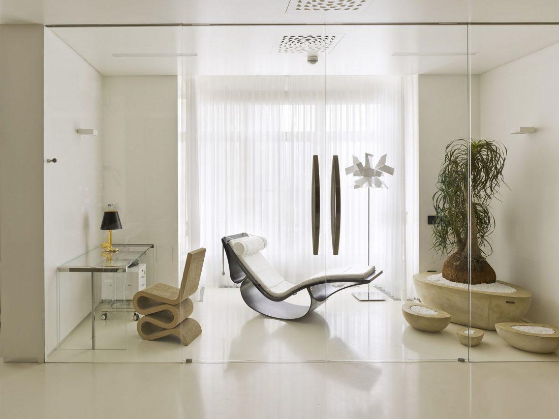 Стиль минимализм в интерьере - мебель 8