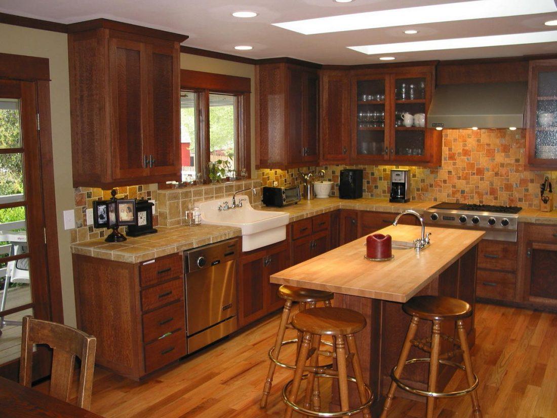 Арт деко стиль в интерьере кухни 10