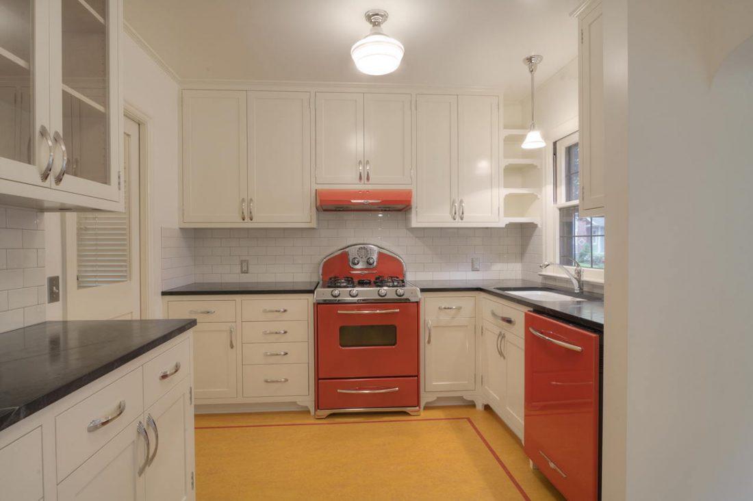 Арт деко стиль в интерьере кухни 12