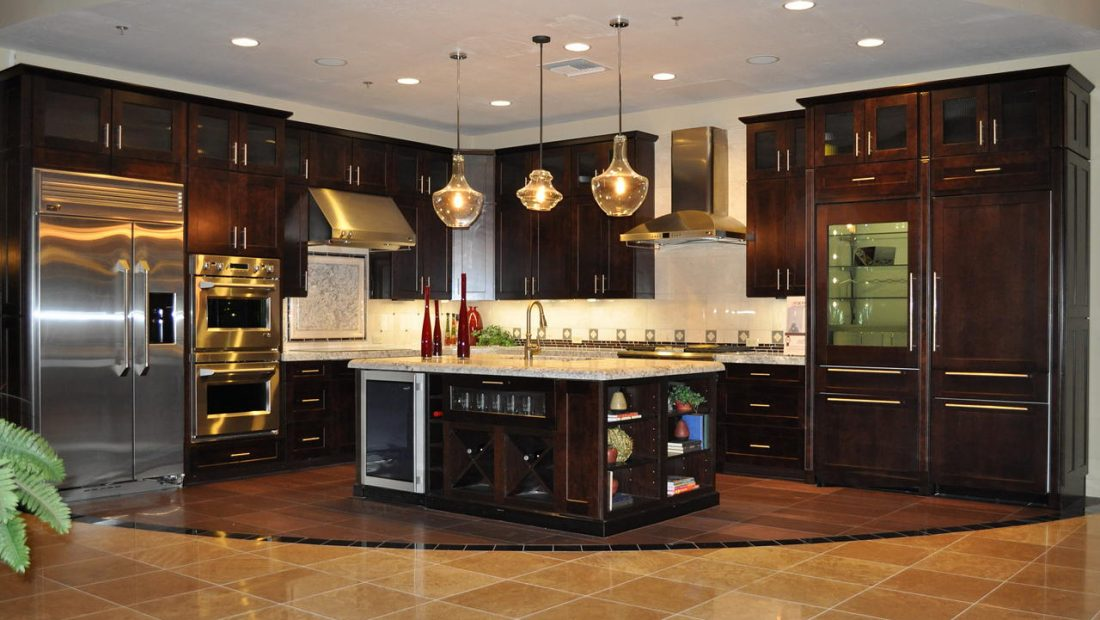 Арт деко стиль в интерьере кухни 13