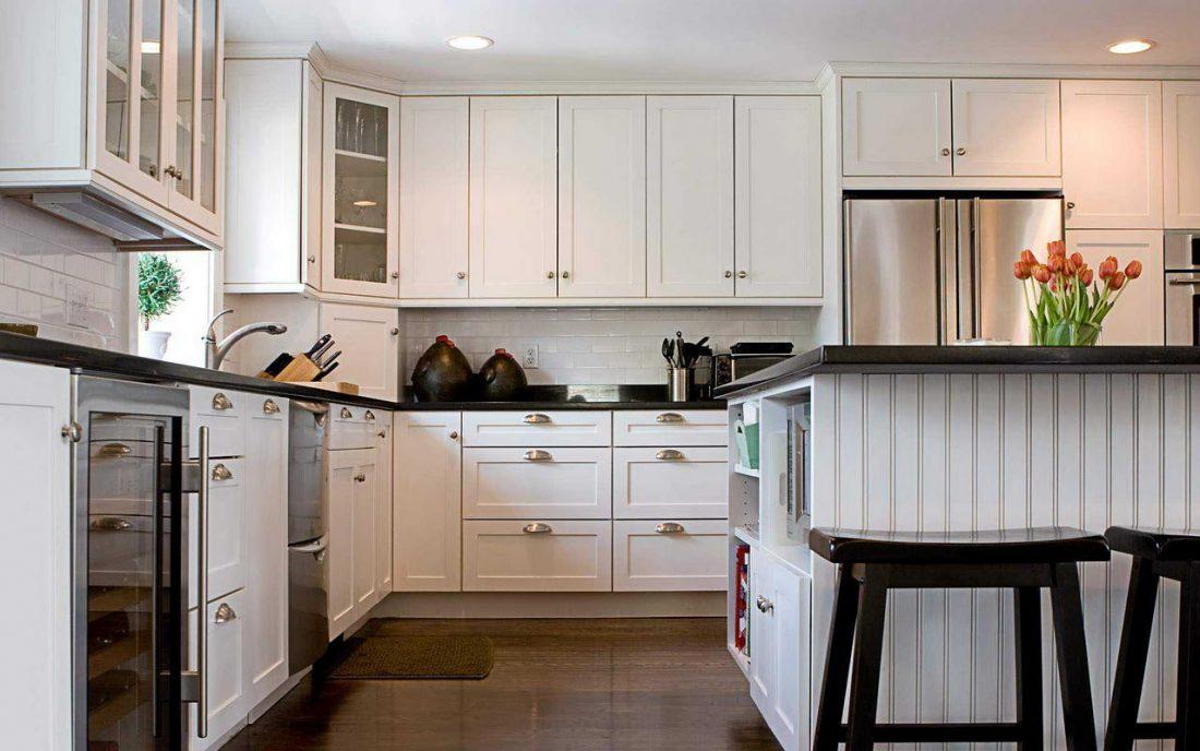 Арт деко стиль в интерьере кухни 7