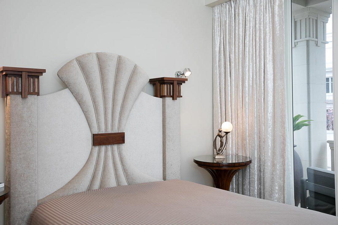 Арт деко стиль в интерьере спальни 14