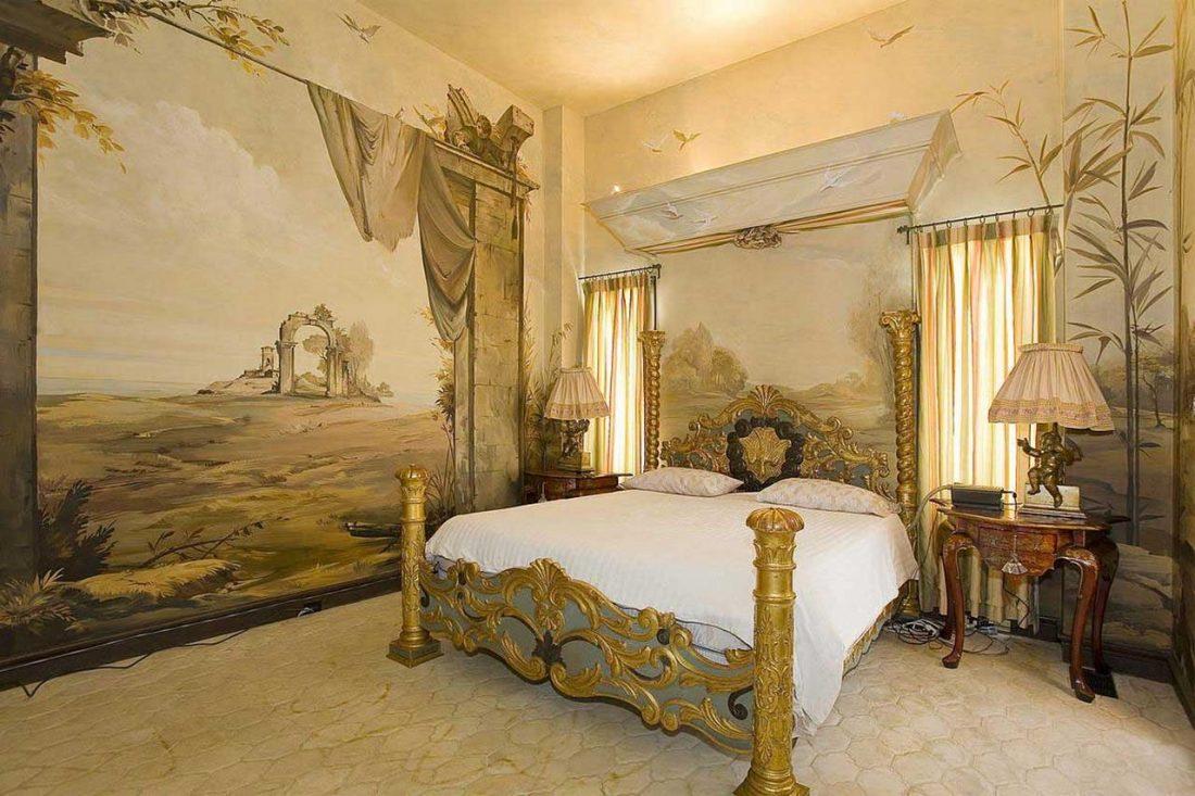 Арт деко стиль в интерьере спальни 3
