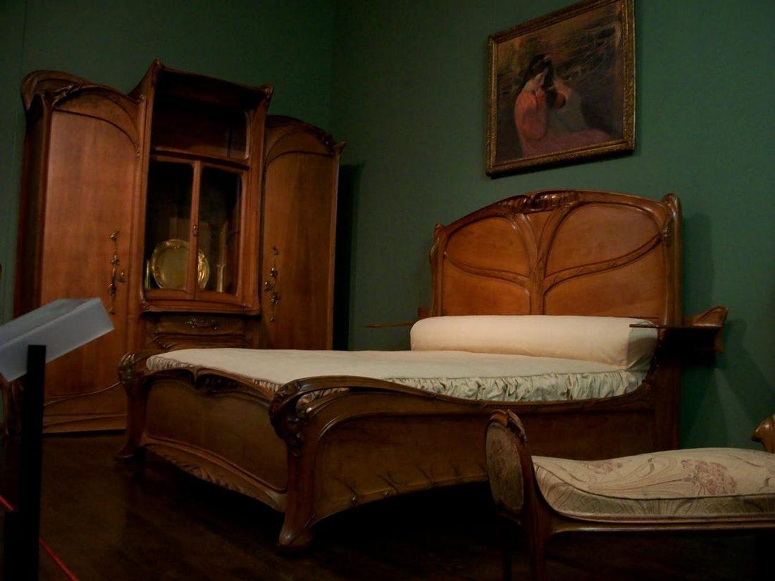 Арт деко стиль в интерьере спальни 7