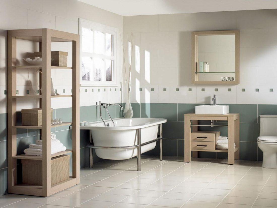 Арт деко стиль в интерьере ванной комнаты 4