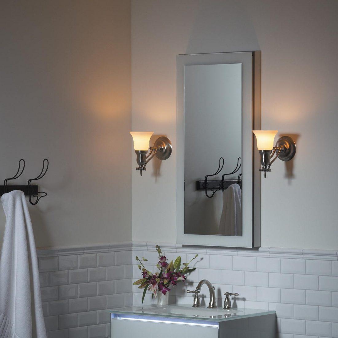 Арт деко стиль в интерьере ванной комнаты 8