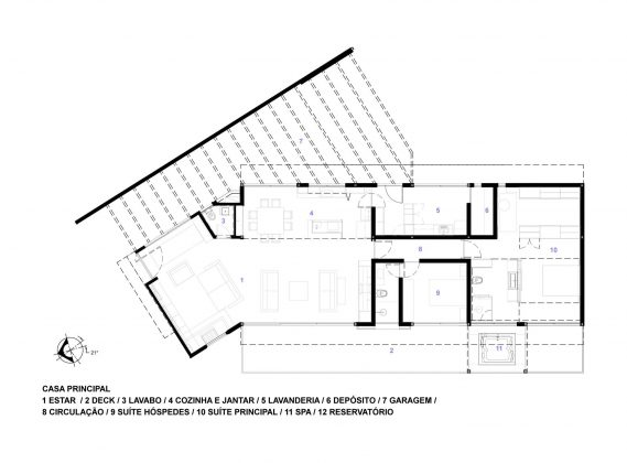 Деревенский дом в Бразилии от студии Sacha Zanin 38