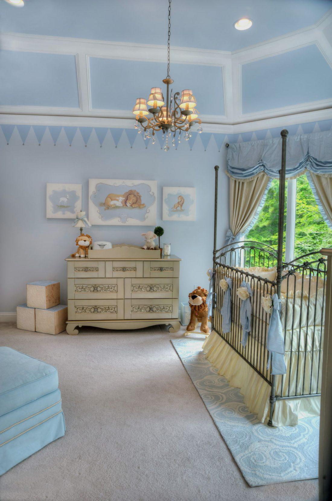 Детская комната в стиле прованс 1