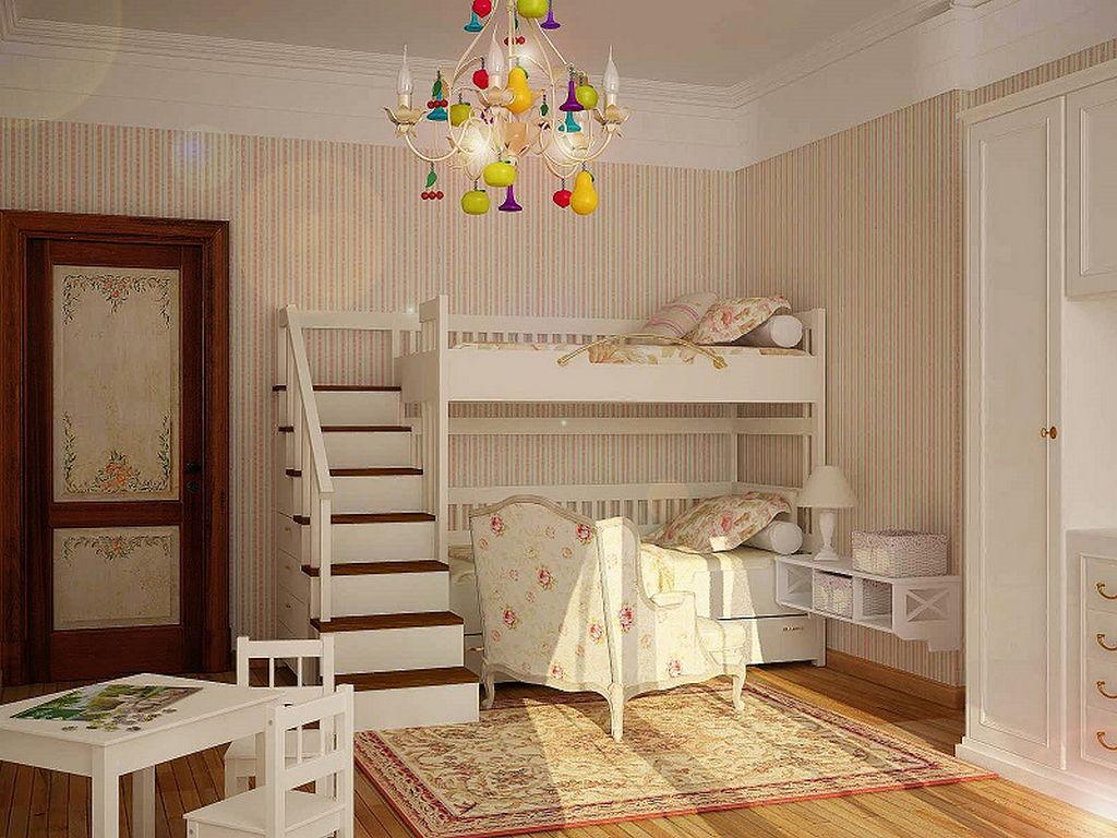 Детская комната в стиле прованс 10
