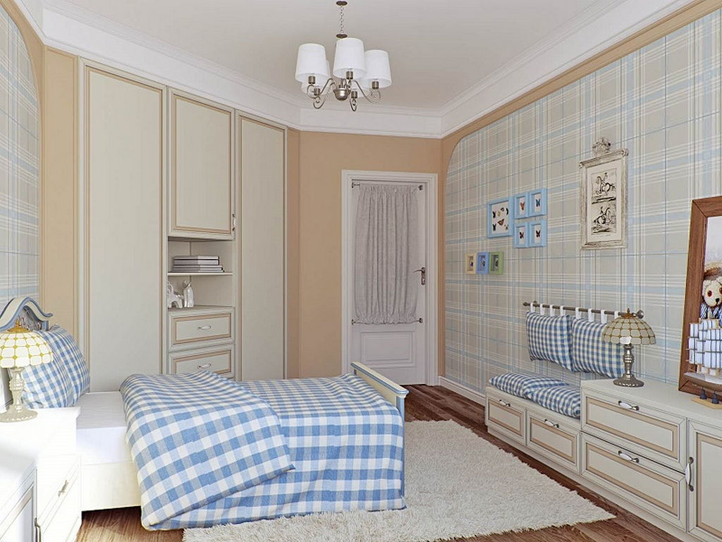 Детская комната в стиле прованс 11
