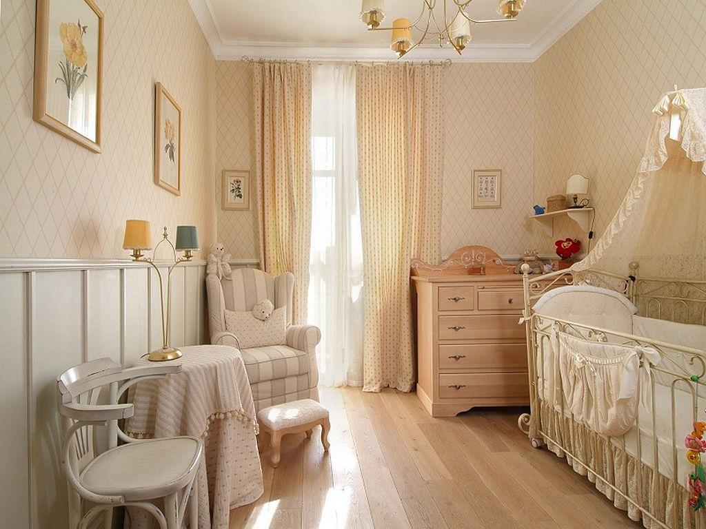 Детская комната в стиле прованс 12